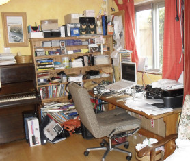 Helen's studio/office