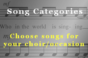 Song Categories