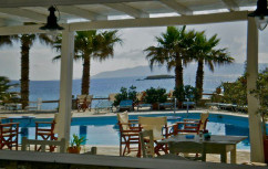 The hotel on Paros